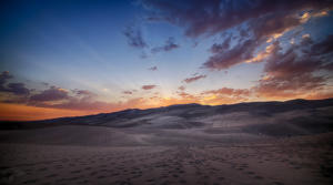 CO Sand Dunes Sunset1